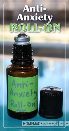 Anti-Anxiety Roll-on Blend Using Essential Oils | www.homemademommy.net  Awesome recipe to have on hand for when you really need it!