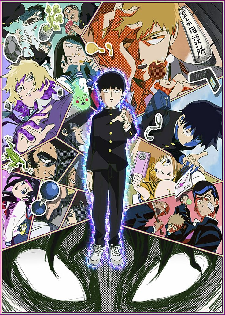 One Punch Man Creators Mob Psycho 100 TV Anime Slated For July 12