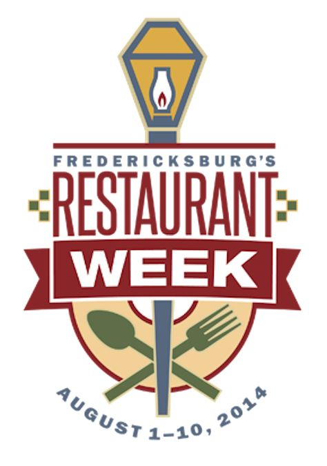 Restaurant Week Fredericksburg Summer