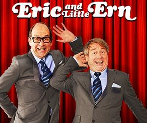 Top tickets from £25 for Eric and Little Ern at the Vaudeville Theatre, London.