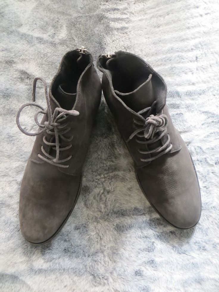 All Saints Men Boot/Chelsea boot/lace up/all leather size 9/lace up