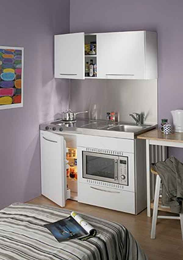 wonderful Mini Kitchen Design Pictures #3: 17 Best ideas about Mini Kitchen on Pinterest | Kitchenette ideas, Tiny  kitchens and Kitchenette