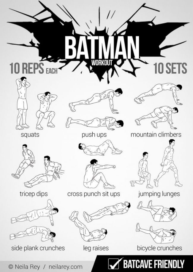 the batman workout