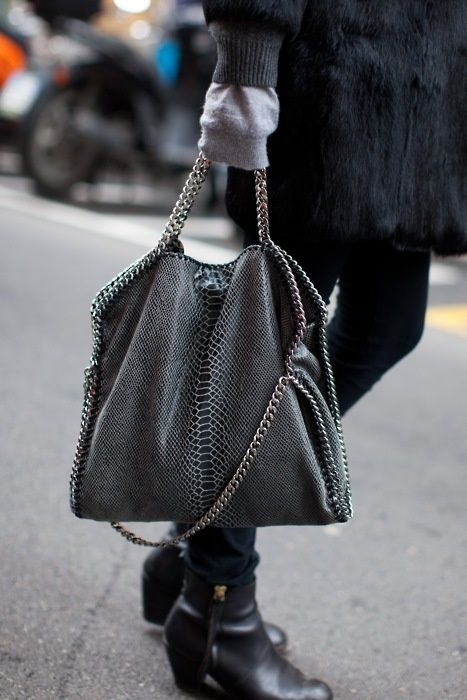 Chain trim iPad sleeve or anything else you could think of, inspired by Stella McCartney's Falabella bag. Description from pinterest.com. I searched for this on bing.com/images