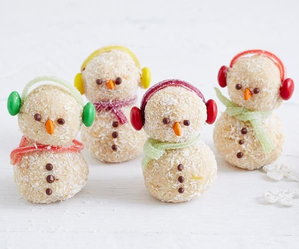 Christmas Coconut Snowmen recipe | Food To Love