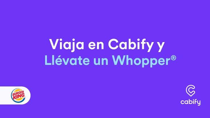 Cabify regala hamburguesas durante una semana - Zoom Tecnológico Chile (Comunicado de prensa) (blog)