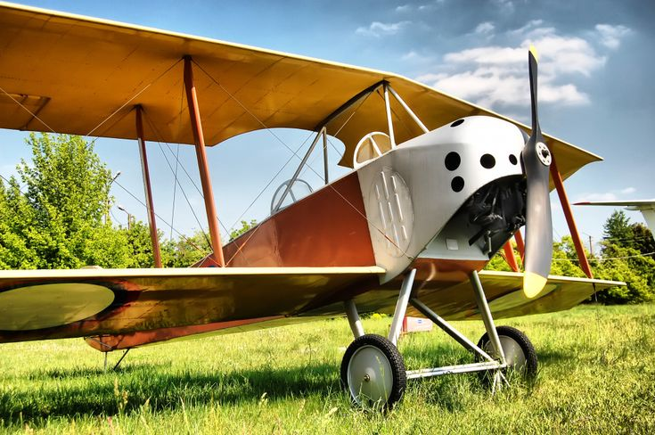 Old Biplane puzzle in Aviation jigsaw puzzles on TheJigsawPuzzles.com. Play full screen, enjoy Puzzle of the Day and thousands more.