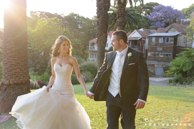 Lavender Bay wedding photography