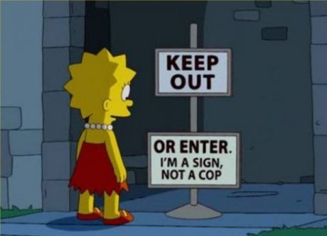 Keep Out - funny pictures - funny photos - funny images - funny pics - funny quotes - funny animals @ humor
