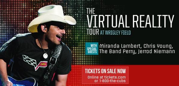 Don't Miss #Brad Paisley's tour.
