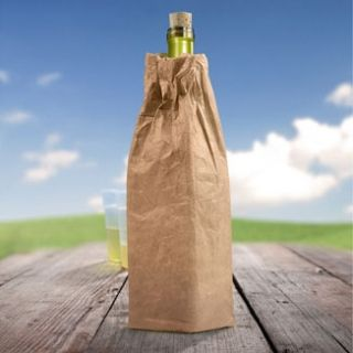 Wine-o Wine Bottle Bag, from HomeWetBar.com