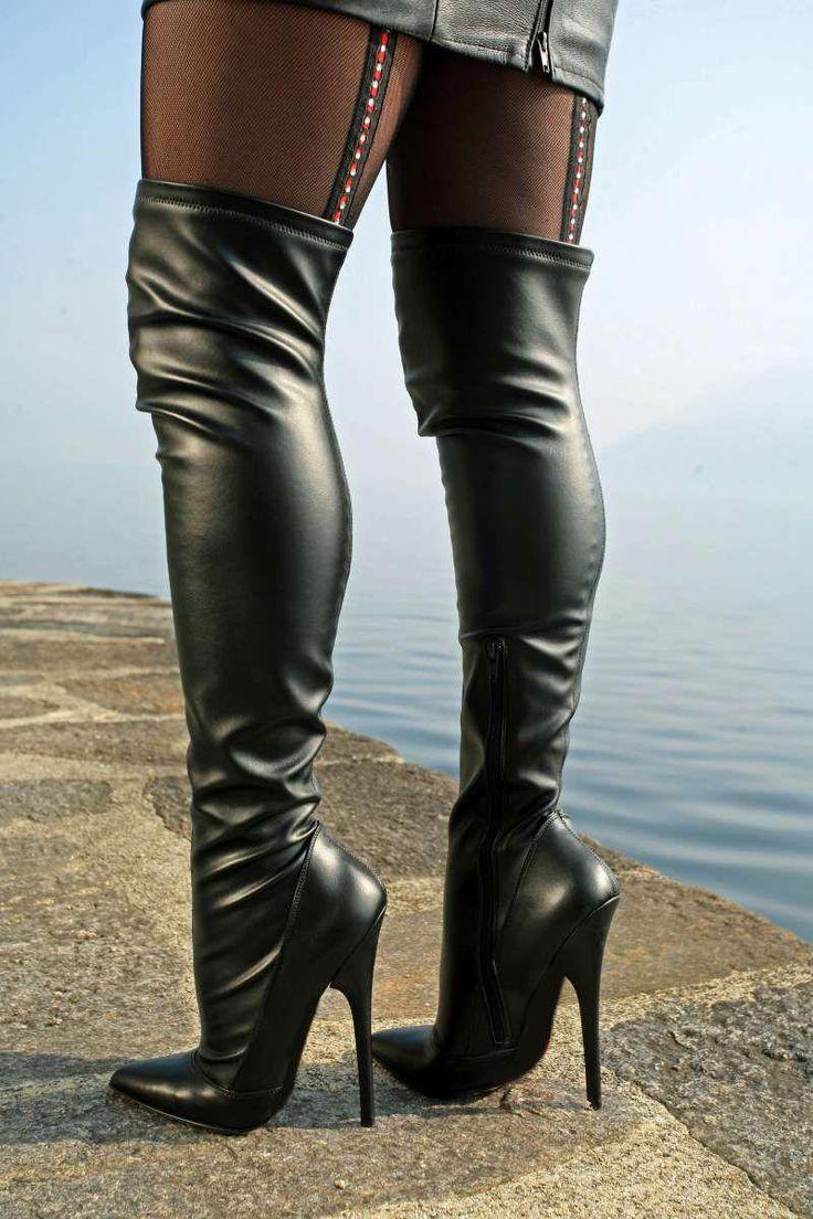 High-Heel Stiefel der Extraklasse MICELI-Made in Italy #