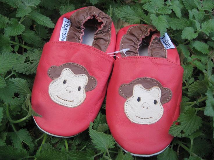 Monkeys  #TwoSoles #Babyshoes #Leather