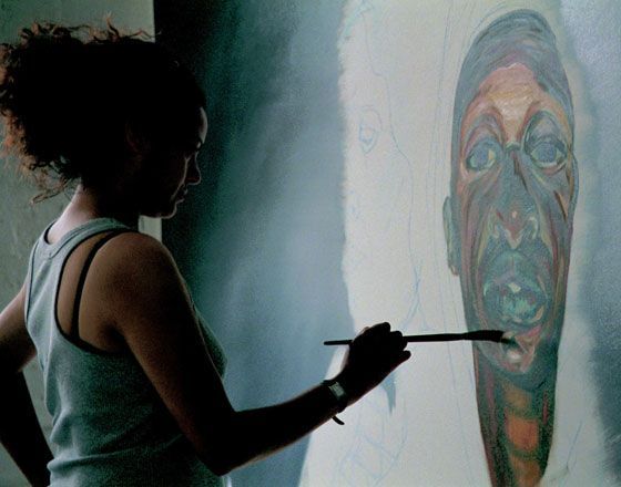 Helen Wilson is a black/dual heritage (Jamaican and English) working class, professional, self taught artist from Bristol, England. Her principal medium is figurative painting (in oils). Helen's work addresses social and cultural issues.