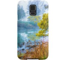 Foggy Start to the Day at Lake Eildon Samsung Galaxy Case/Skin