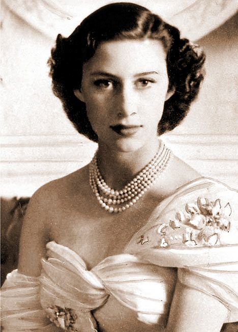 Princess Margaret photographed for her 21st birthday by celebrated photographer Cecil Beaton.