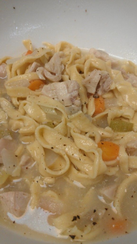Homemade Chicken Noodle Soup Recipe from Scratch