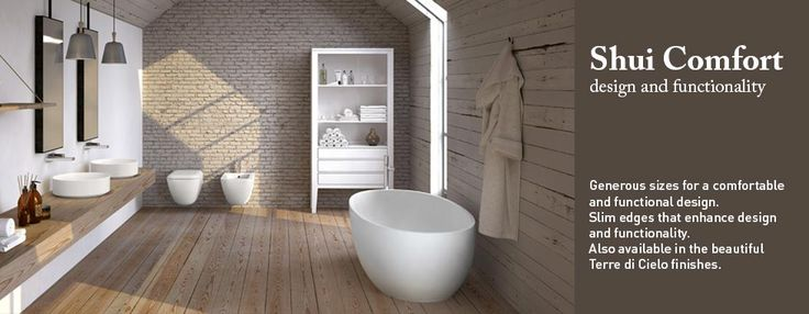 Sanitary-ware Shui Comfort Collection