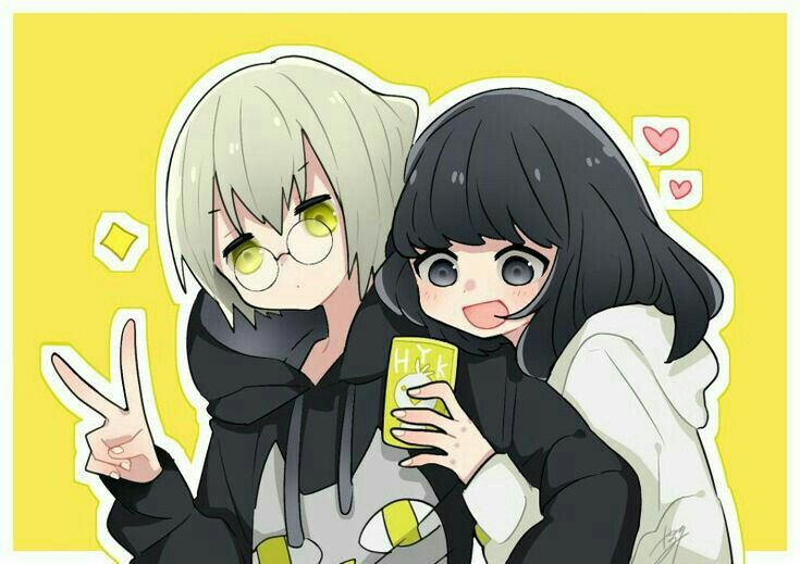 Tubarururu Poses De Anime Casais Lesbicos Fofos Guerreiro Anime