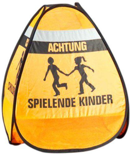 """REER Le panneau de signalisation 3D """"En train de jouer"""" sécurité enfant sécurité bébé, orange Reer http://www.amazon.fr/dp/B00A6SNSLY/ref=cm_sw_r_pi_dp_saWDvb1RNXMRF"""