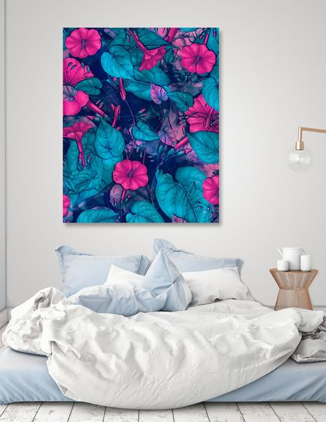 Discover «flowers 22», Limited Edition Canvas Print by Justyna Jaszke - From $59 - Curioos