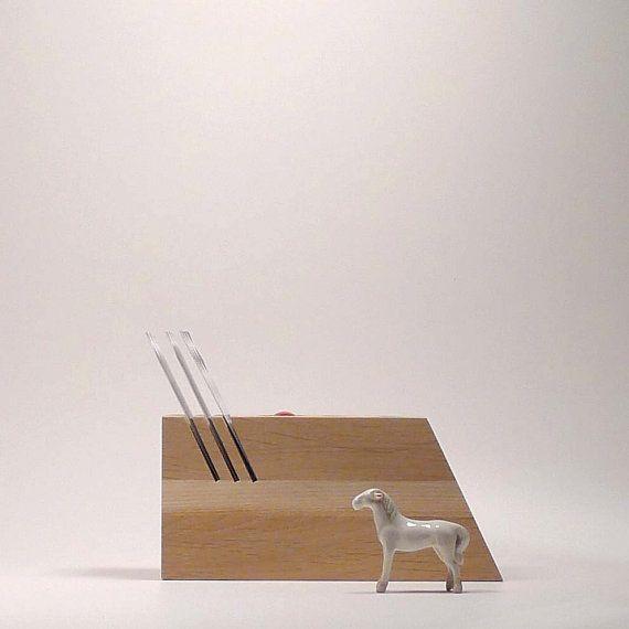 wooden desk organizer desk tool organizer by ...