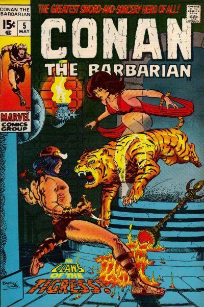 Conan the Barbarian #5. Cover by Barry Smith. #Conan #BarrySmith