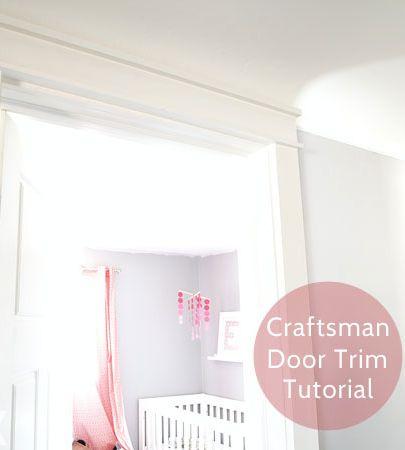 Add Character with Craftsman Door Trim
