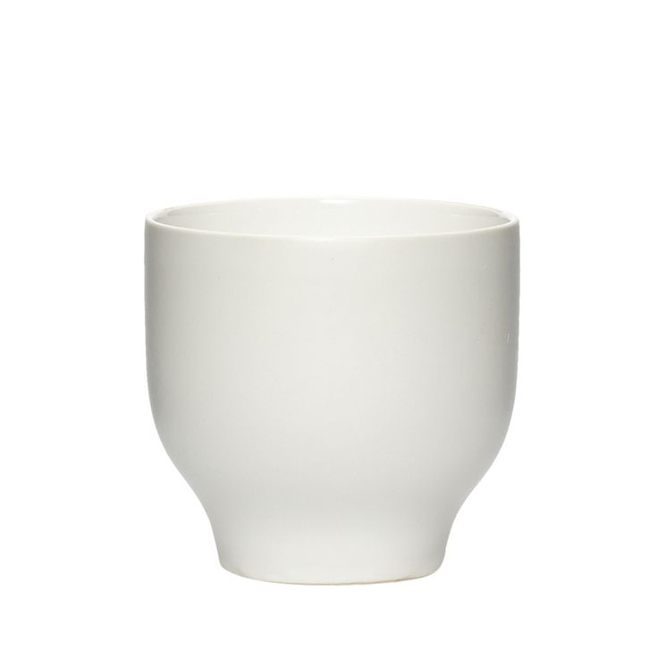 White porcelain cup, small. Item number: 719023 - Designed by Hübsch