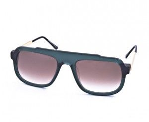 THIERRY LASRY MASTERY 3473 Frame: emerald green gold temples Lens: brown gradient  EXPRESS FREE SHIPPING