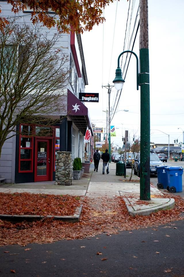 6th Avenue in Tacoma, Washington. Home of the Metronome Cafe, Valhalla Coffee Roasters, and Shakabra. I miss spending mornings walking down these streets.