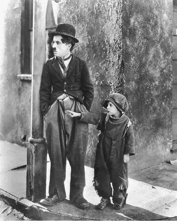 Charlie Chaplin in The Kid.......really ANYTHING Chaplin!