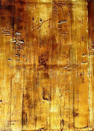 Casket    3.5x59x84cm      Gold/silver/cream/buddha brown/gold leaf/silver lea