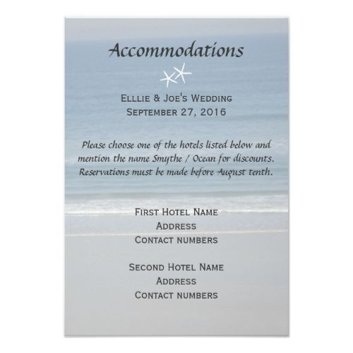 1000+ Ideas About Accommodations Card On Pinterest