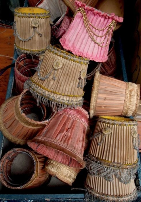 french antique lampshades