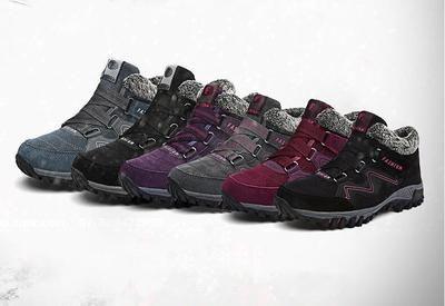 cc6041e2f5 VANCAT Men Boots Winter With Fur 2019 Warm Snow Boots Men Winter Boots Work Shoes  Men Footwear Fashion Rubber Ankle Shoes 39-46
