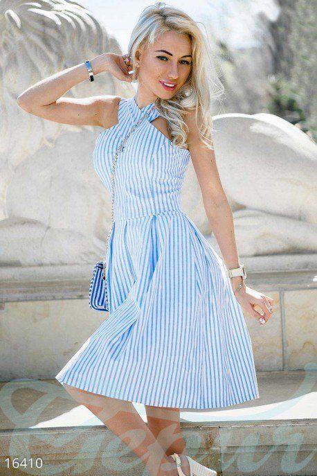 Gepur | Изящное летнее платье арт. 16410 Цена от производителя, достоверные описание, отзывы, фото