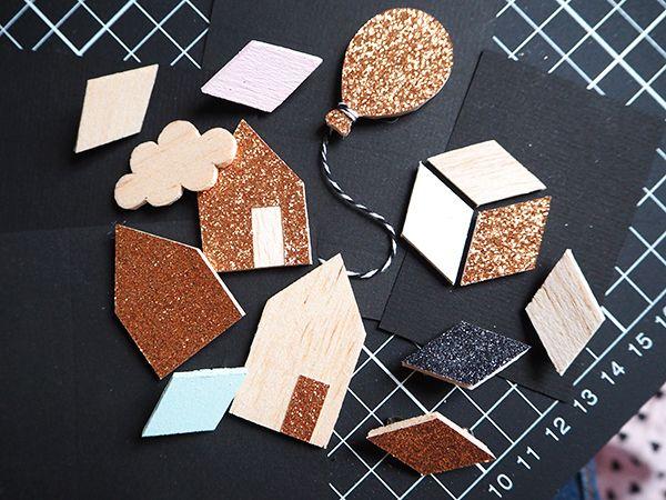 tuto pour réaliser de jolies broches en bois