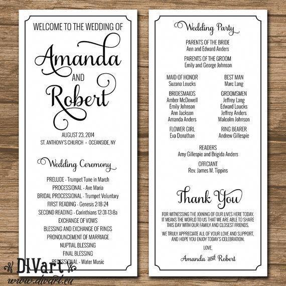 Unique Yet Very Romantic Wedding Plans. Simple