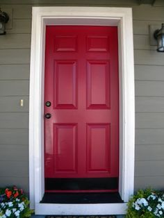 How to paint a metal exterior door ..... will have to read up on all of these to determine what I need to do for Mom and Dad...