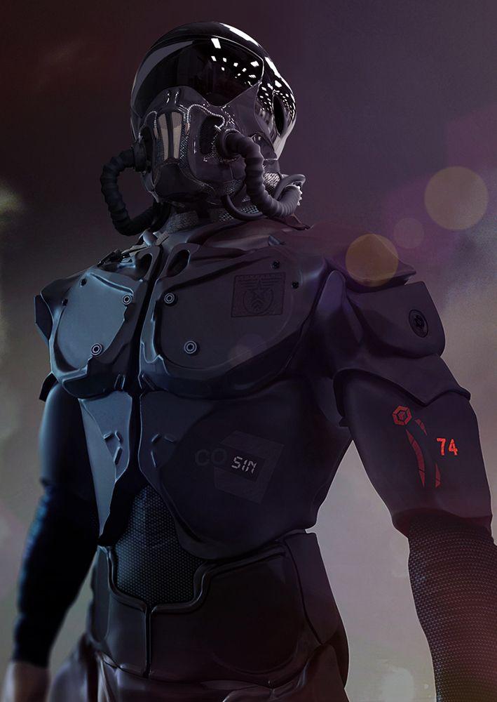 combat armor elite, Marcel G on ArtStation at http://www.artstation.com/artwork/combat-armor-elite