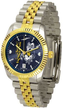 Navy Midshipmen Executive AnoChrome Men's Watch