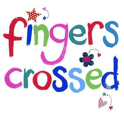 Fingers crossed | Good Luck | Pinterest | 'salem's lot ...