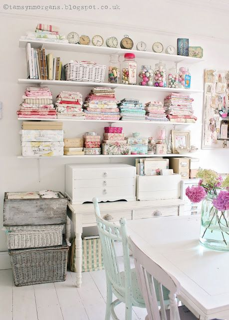 The Villa on Mount Pleasant: Craft Room Update