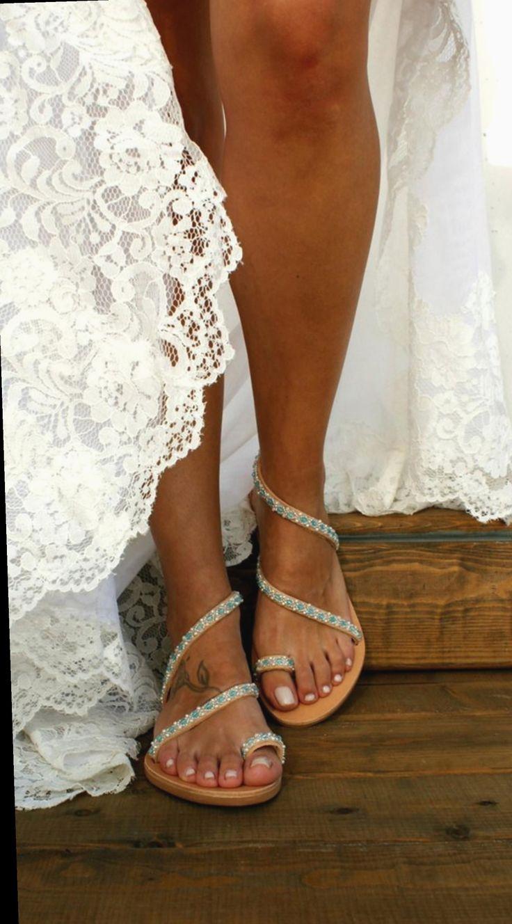 Versace   Leather platform sandals, Fashion shoes sandals