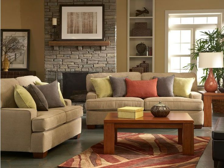The Harper With Bainbridge Living Room Set Has A Smart Contemporary Look  With Warm Earthy Accents