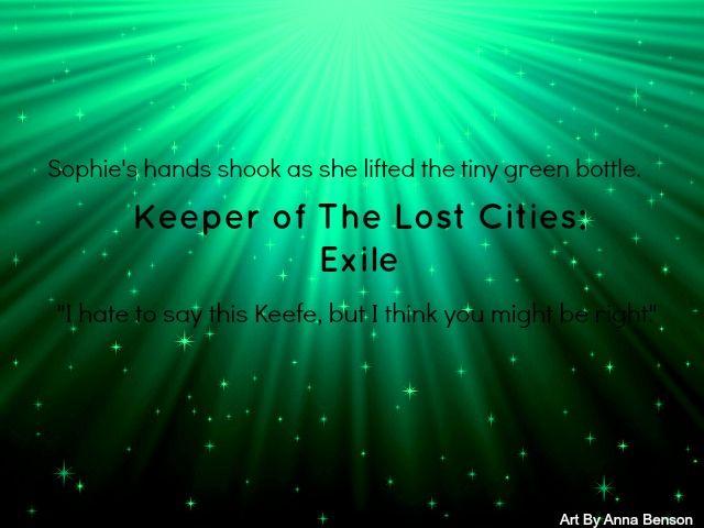 Keeper of the lost cities fan art