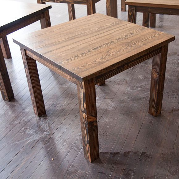 style table square dining table rustic dining table kitchen table