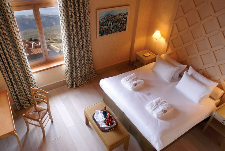 The hotel is the epitome of elegance and style while also succeeding in the preservation of the local architecture. http://www.tresorhotels.com/en/hotels/48/santa-marina-arachova-resort