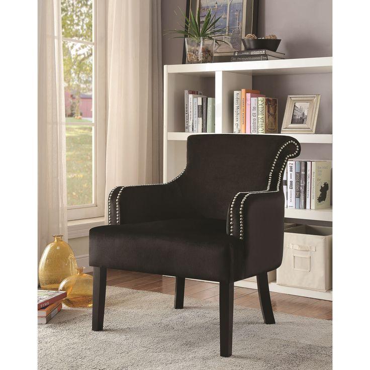 rodano accent chair rodano black accent chair mdf